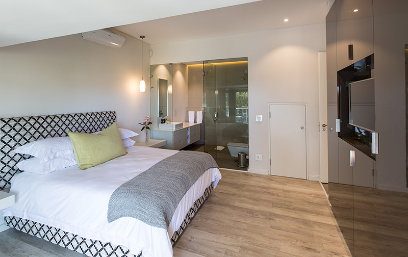 Bedroom 4 is a luxurious affair complete with expansive king size bed and TV – you'll never want to leave!