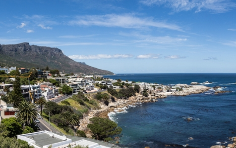 Take in this view from the entrance level patio at the top of the house. This is Cape Town showing off & 62 Camps Bay is your ultimate private sanctuary by the sea.